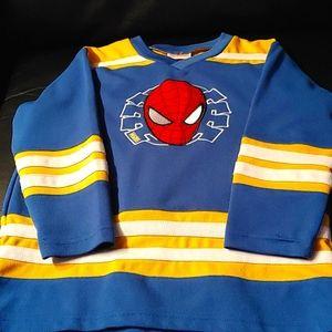 2/$40🕷Marvel Boys Spider-Man Hockey Jersey🕷
